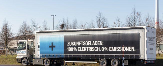 Inbetriebnahme Elektro-LKW